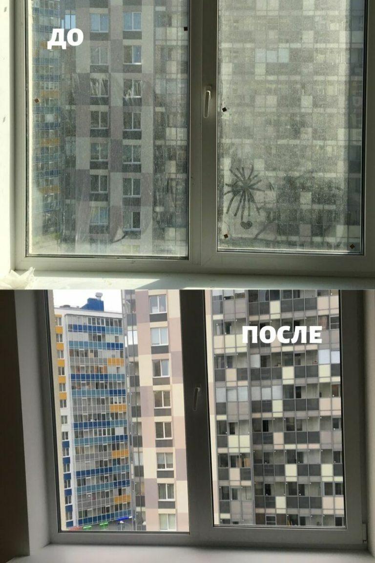 мытьё окон в Сантк-Петербурге