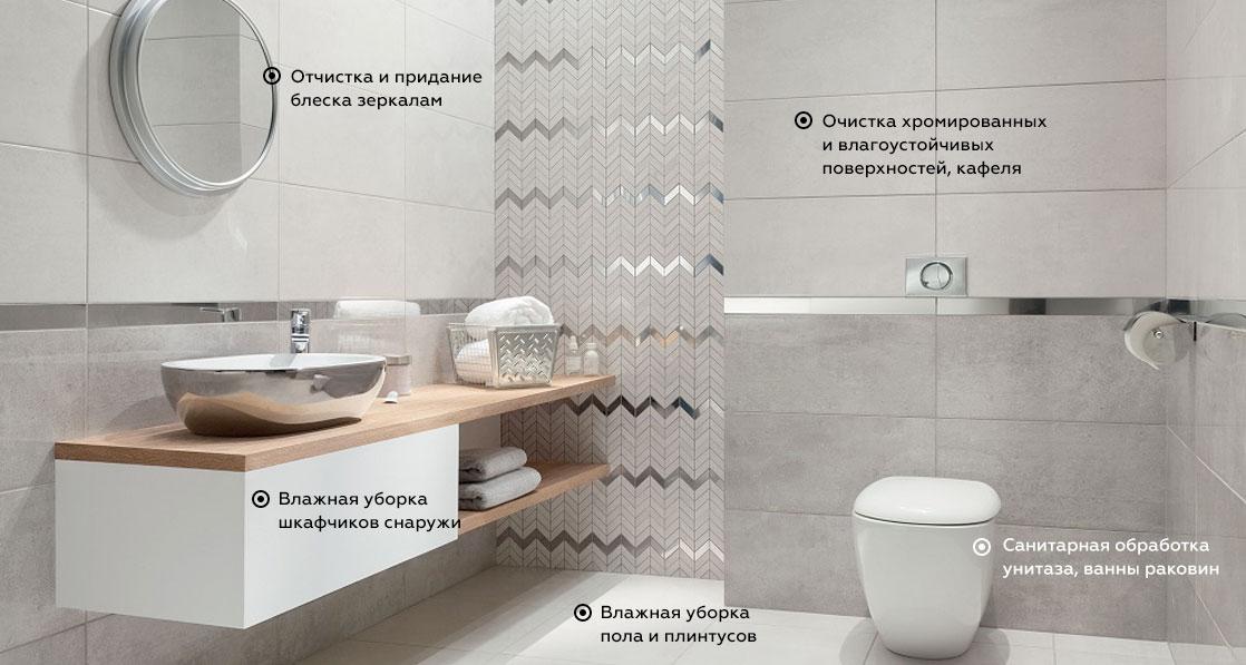 podbath - Поддерживающая уборка