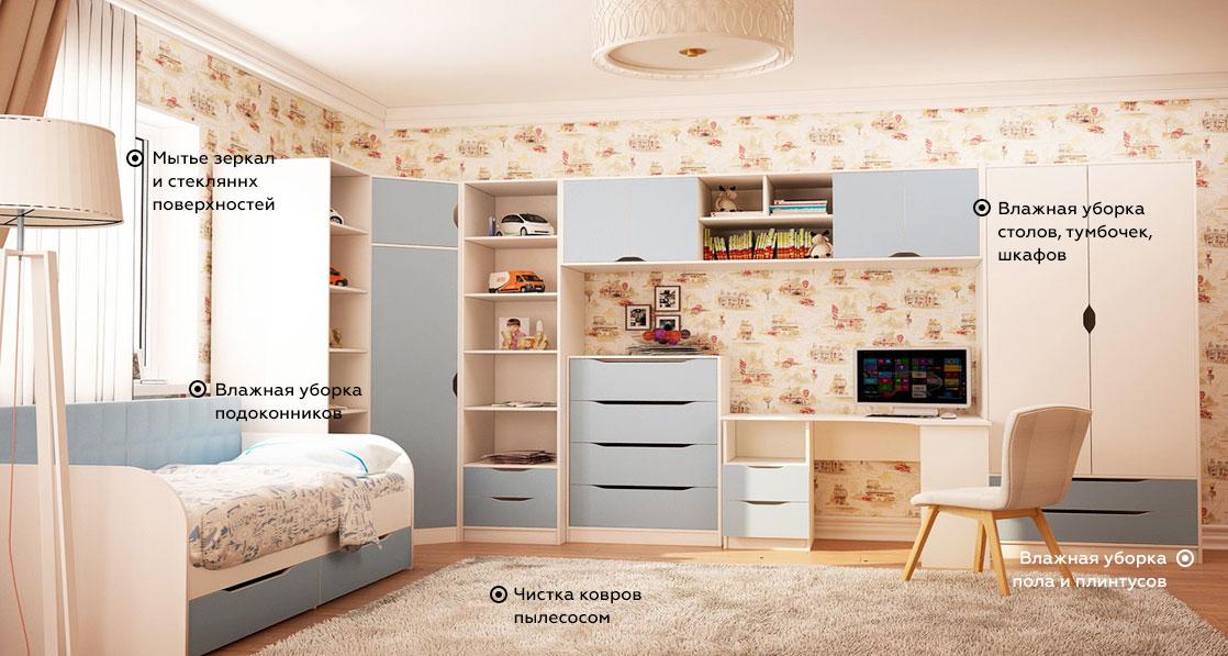 podroom - Поддерживающая уборка